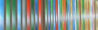 Moderne Glasmalerei
