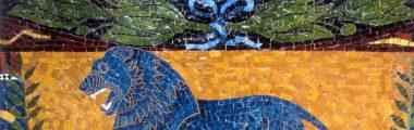 Restaurierung der Mosaike am Friedensengel in München