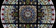 Emporenfenster der Christuskirche in Qingdao
